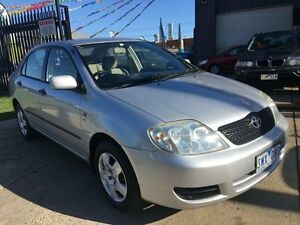 2004 Toyota Corolla ZZE122R Ascent 4 Speed Automatic Sedan Brooklyn Brimbank Area Preview