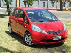 2009 Honda Jazz GE VTi Ralley Red 5 Speed Automatic Hatchback Albert Park Charles Sturt Area Preview