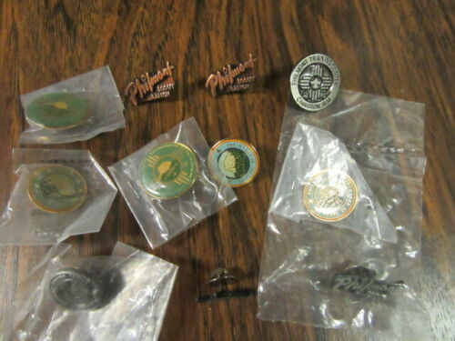 Philmont Scout Ranch Lot of 11 Lapel and Hat Pins    eb19