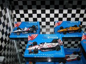 25 Modèles diecast 1/43 formule indy car course collection