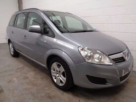 VAUXHALL ZAFIRA 7 SEAT MPV , 2010 REG , LOW MILES + HISTORY , YEARS MOT, FINANCE AVAILABLE, WARRANTY