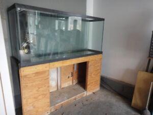 150 Gallon custom fish tank 1/2 glass