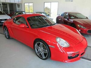 2008 Porsche Cayman 987 MY08 Guards Red 5 Speed Manual Coupe Albion Brisbane North East Preview