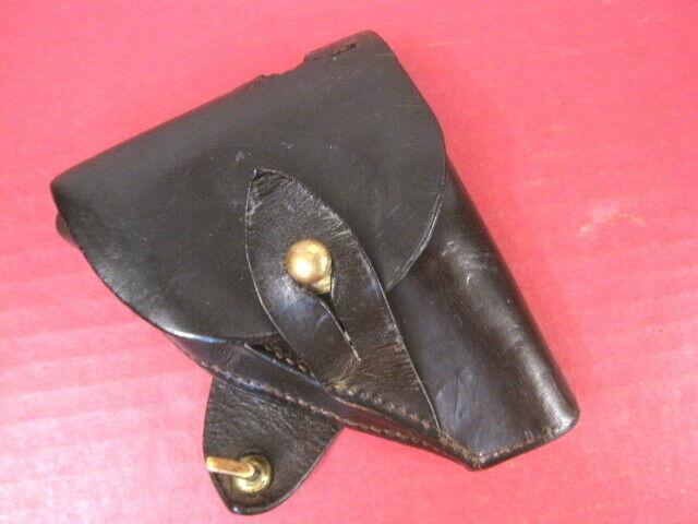 WWI British Leather Holster for Colt M1908 .25acp Pistol on Sam Browne Belt RARE