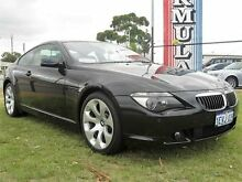 2005 BMW 645Ci E63 645CI Black Automatic Coupe Wangara Wanneroo Area Preview