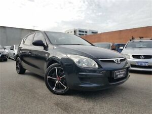 2009 Hyundai i30 FD MY09 SX Black 5 Speed Manual Hatchback Osborne Park Stirling Area Preview