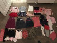 Girls bundle (32 items) 2-3 yrs Ralph Lauren, Gap, JoJo Maman, Next