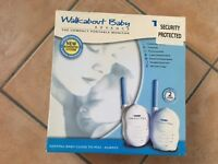 Tomy Walkabout Advance Baby Monitor Available - Brand New in Box!