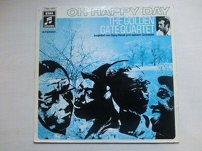 The Golden Gate Quartet - Oh Happy Day (Album) with AUTOGRAPH!!!