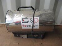 SP fireball 80DVS propane heater