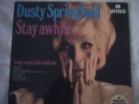 Vinyl LP Dusty Springfield Stay Awhile
