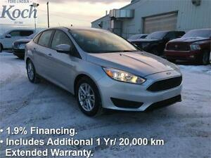 2016 Ford Focus SE  Low kms, Heated Seats  Wheel, SYNC, Auto