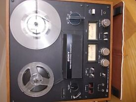 Sony TC-399 open reel stereo tape player and recorder