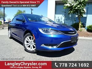 """2016 Chrysler 200 Limited W/ 8.4"""" TOUCHSCREEN DISPLAY, REAR-V..."""