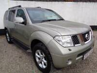 Nissan Pathfinder 2.5 TD Mammoth Sports Adventure 5dr (silver) 2007
