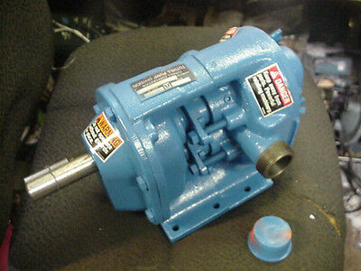 New Tuthill 25a Gear Driven Lobe Semi-sanitary Process Pump Liquid Oil Ink Iron