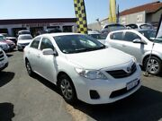 2012 Toyota Corolla ZRE152R MY11 Ascent White 4 Speed Automatic Sedan Mount Lawley Stirling Area Preview