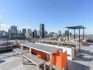 Amazing Closed 1 BR condo in  Griffintown with rooftop pools!