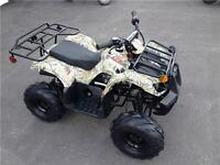 Casselman Performance Kids ATV 125cc & reverse
