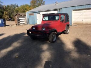 1992 Jeep Wrangler YJ Other