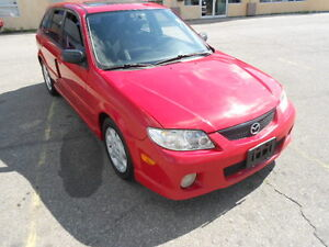 2002 Mazda Protage 5,HB; CERTIFIED & ETESTED