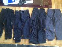 """Snowpants: Sessions, Bonfire, North Face and S&C ~ 30-34"""" waist"""
