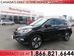 2016 Honda CR-V TOURING   AWD   1 OWNER   NO ACCIDENTS   LOW KM'