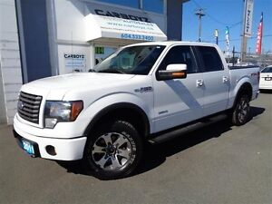 2011 Ford F-150 FX4 Crew 4x4, Leather, Sunroof, Max Trailer Tow