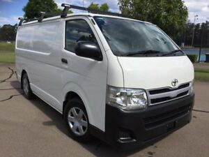 2012 Toyota HiAce KDH201R MY12 Upgrade LWB White 5 Speed Manual Van Homebush West Strathfield Area Preview