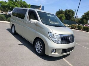 2008 Nissan Elgrand E51 Series 3 VG Gold 5 Speed Automatic Wagon