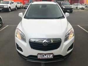 2014 Holden Trax TJ MY14 LTZ White 6 Speed Automatic Wagon Lilydale Yarra Ranges Preview
