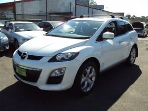 2011 Mazda CX-7 ER MY10 Luxury Sports (4x4) White 6 Speed Auto Activematic Wagon Punchbowl Canterbury Area Preview