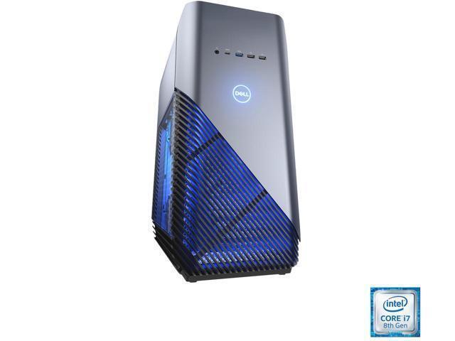 Dell Inspiron Desktop Intel Core i7 16GB Memory NVIDIA GeForce GTX 1060 128GB Solid State Drive + 2TB Hard Drive Recon Blue I5680-7813BLU-PUS