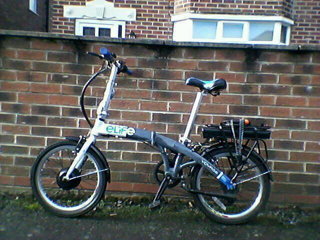Elife voyage electric bike