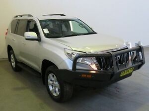 2013 Toyota Landcruiser Prado KDJ150R 11 Upgrade GXL (4x4) Silver Pearl 5 Speed Sequential Auto Westdale Tamworth City Preview
