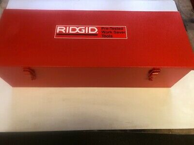 New Metal Case For A Ridgid 700 Power Pony Pipe Threader Six 12r Die Heads 12-2