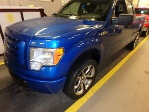 2009 Ford F-150 Supercab  XL with Mag rims and towing package