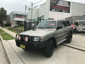 2001 Nissan Patrol GU II ST (4x4) Gold 5 Speed Manual 4x4 Wagon St Marys Penrith Area Preview