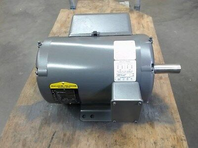 Baldor Spec-36h120s501g1 3 Hp 230 Volts 1725 Rpm 4p 1-ph 184t Fr Ac Motor