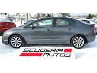 Honda Civic Si 2009, *81 000 Km*, Équipé, 8 Roues, Impeccable !