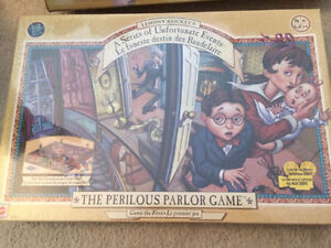 LEMONY SNICKET'S A SERIES OF UNFORTUNATE EVENTS GAME NEW SEALED