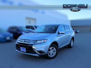 2016 Mitsubishi Outlander ES, 4X4, BLUETOOTH, HEATED SEATS, WINT