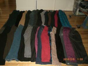 Gros lot de 42 pantalons divers pour femme