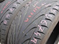 245/45/18 Toyo Proxes x2 A Pair, 5.6mm (454 Barking Rd, Plaistow, E13 8HJ) Used Tyres East London