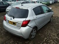 TOYOTA YARIS 2012-2017 BREAKING FOR SPARES TEL 07814971951 HAVE FEW IN STOCK