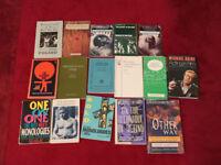 Sixteen good Acting Books and Plays - Job Lot