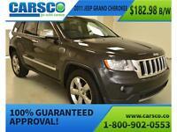 2011 Jeep Grand Cherokee Limited, AWD $178.24B/W*