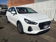 2017 Hyundai i30 PD MY18 Active D-CT Polar White 7 Speed Sports Automatic Dual Clutch Hatchback Townsville Townsville City Preview