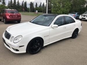 2006 Mercedes-Benz E55 AMG*NAV/ACCIDENT FREE/PAN0RAMIC SUNROOF*
