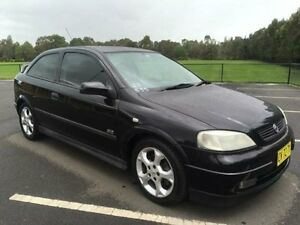 2002 Holden Astra TS SRi Black 5 Speed Manual Hatchback Revesby Bankstown Area Preview